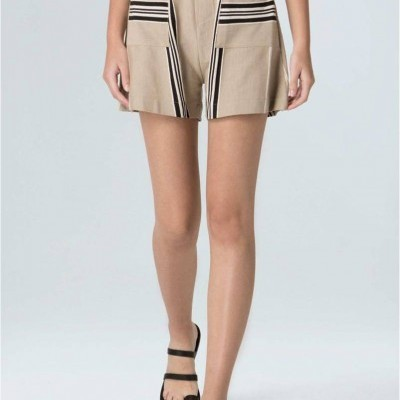 SHORTS FEM RAW STRIPE OSKLEN
