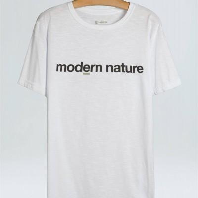 T-Shirt Masculina Organic Rough Modern Nature