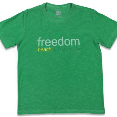 T-SHIRT FLAME FREEDOM MIG