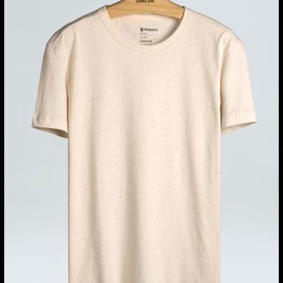 T-Shirt Masculina Cânhamo E-Basics Mc