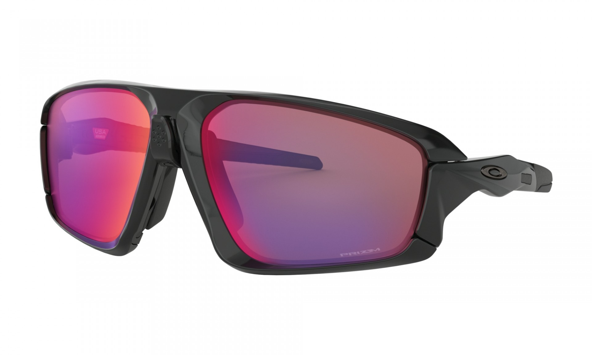 OCULOS OAKLEY FIELD JACKET POLISHED BLACK W/PRIZM ROAD