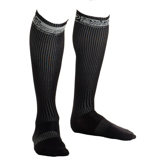 Meias  ASSOS  Compressport FullSocks  Compression preto