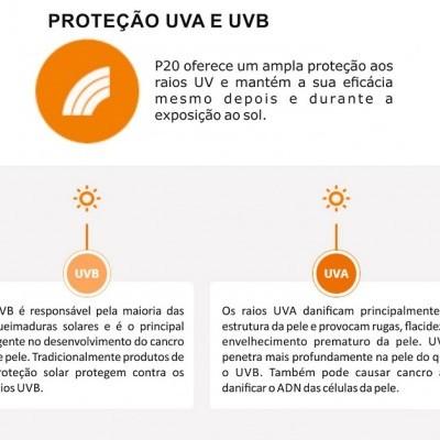Protector Solar P20 SPF 50+