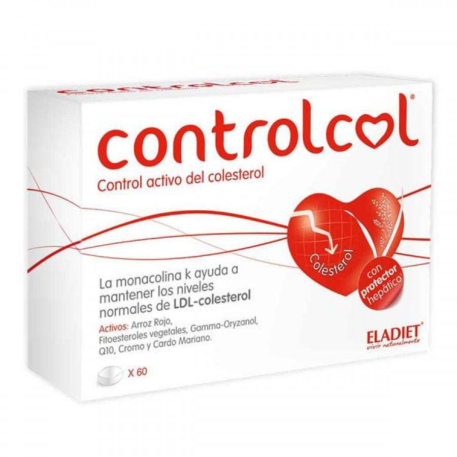 Controlcol 60 Comprimidos Eladiet