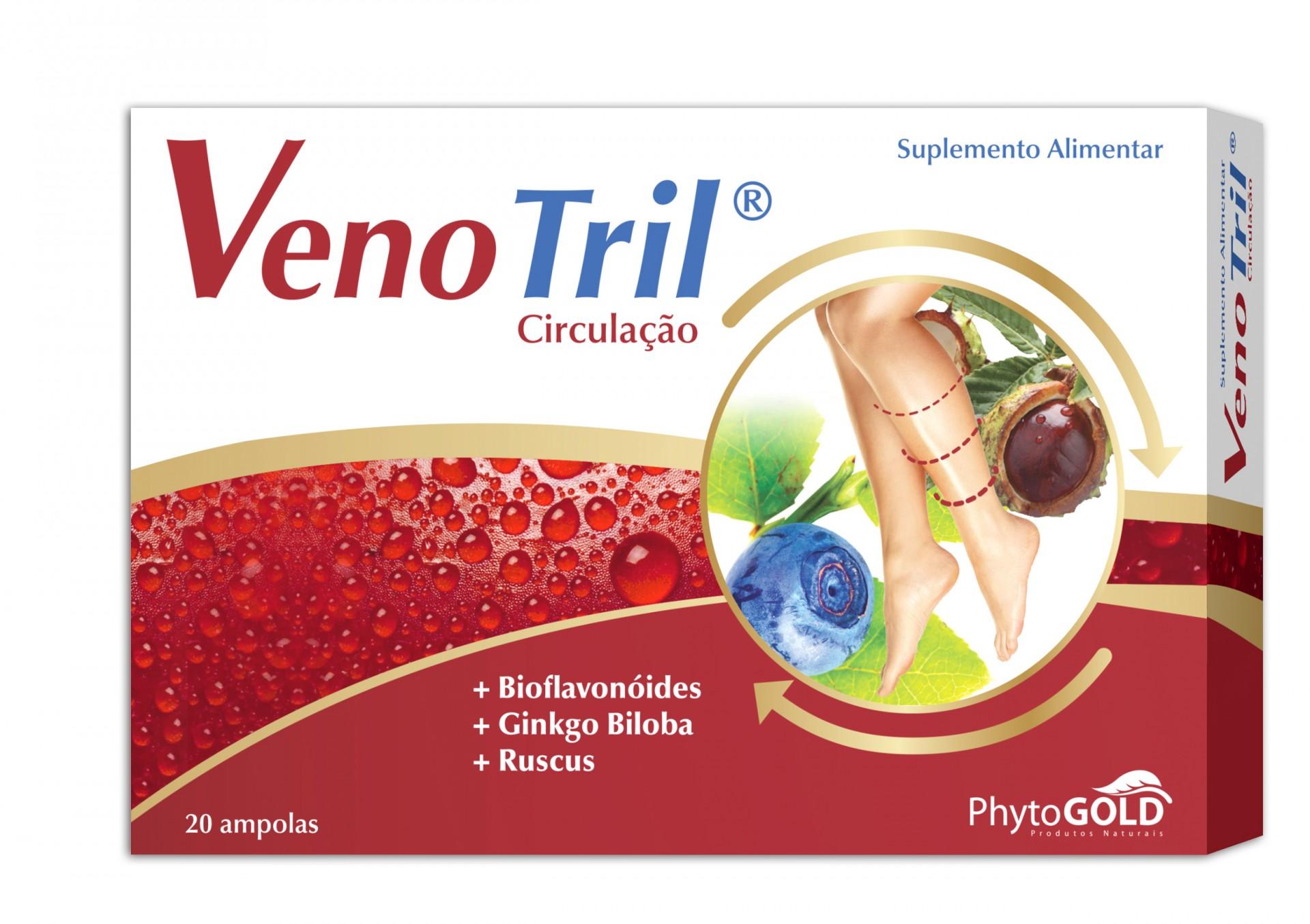 Venotril® Ampolas com Mirtilo