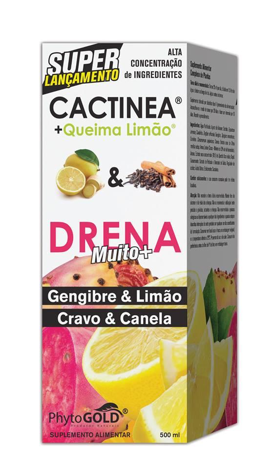 DRENA CACTINEA® + Queima Limão
