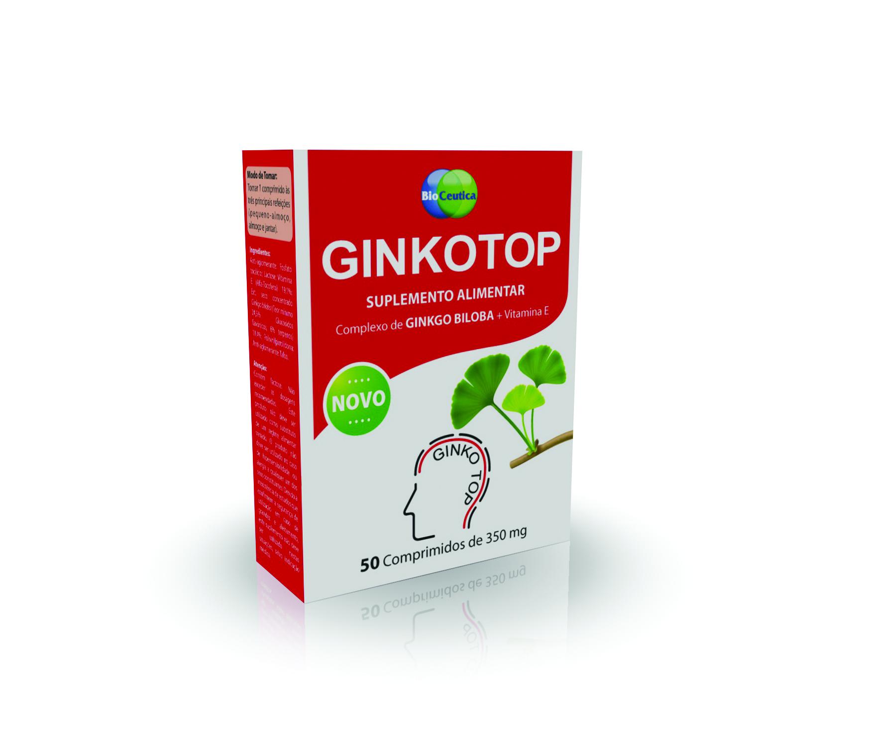 Ginkotop 50 Comprimidos Biocêutica