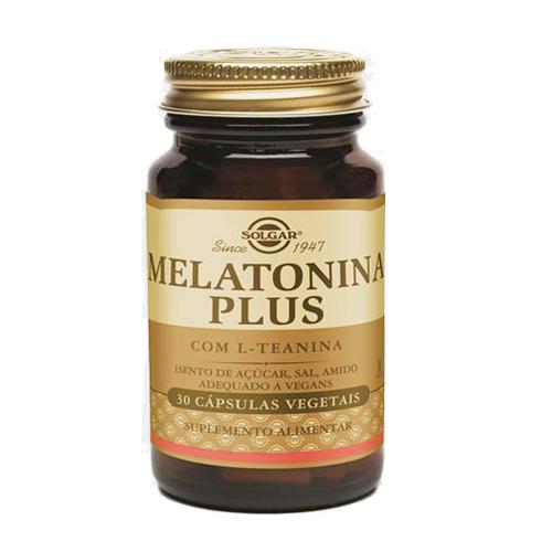Melatonina Plus (com L-teanina) 30 Cápsulas Solgar