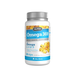alpha omega 3 ,6 e 9   110 capsulas biohera