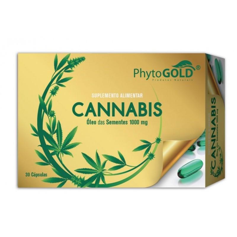 Cannabis 30 Cápsulas Phytogold