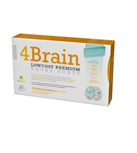4 Brain Ampolas Bio-Hera