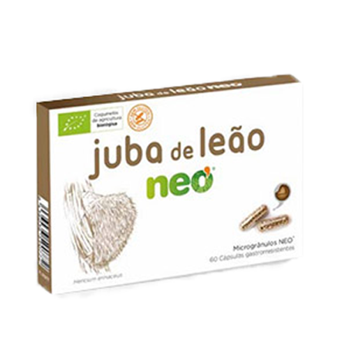 Juba de Leão Neo 60 Cápsulas