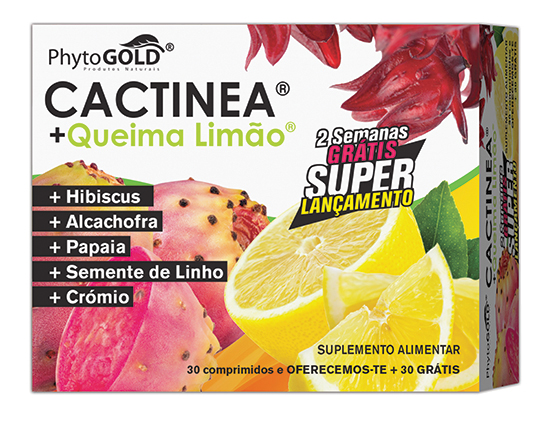 CACTINEA + Queima Limão