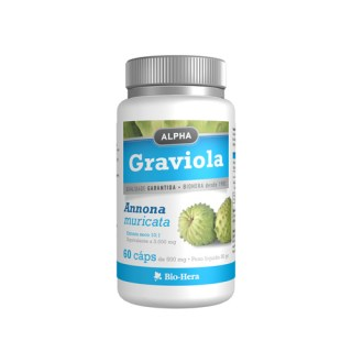 Alpha Graviola 3000 mg 60 capsulas biohera