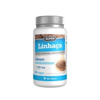 alpha linhaca 1500 mg 60 capsulas biohera