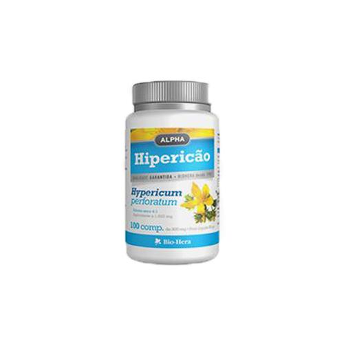 Alpha Hipericão - 1500mg 100 comprimidos Bio-Hera