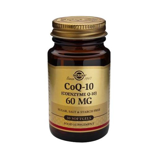 Coenzima Q-10 60mg 30 Cápsulas Solgar