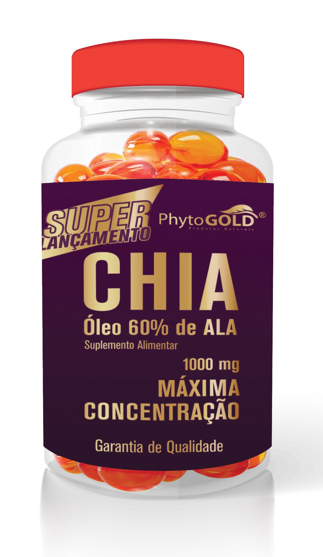 CHIA - Óleo de Chia 1000 mg