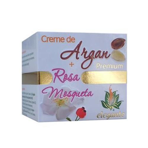 Elegante Premium Creme Argan Rosa Mosqueta FJCampos