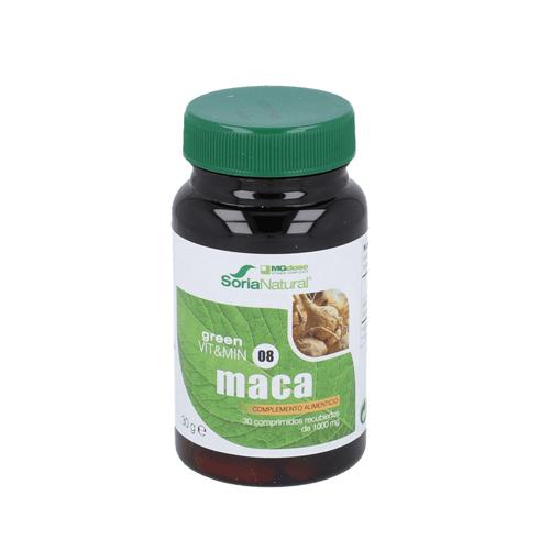 Maca 30 Comprimidos Soria Natural