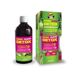 sumo detox concentrado novity dietmed