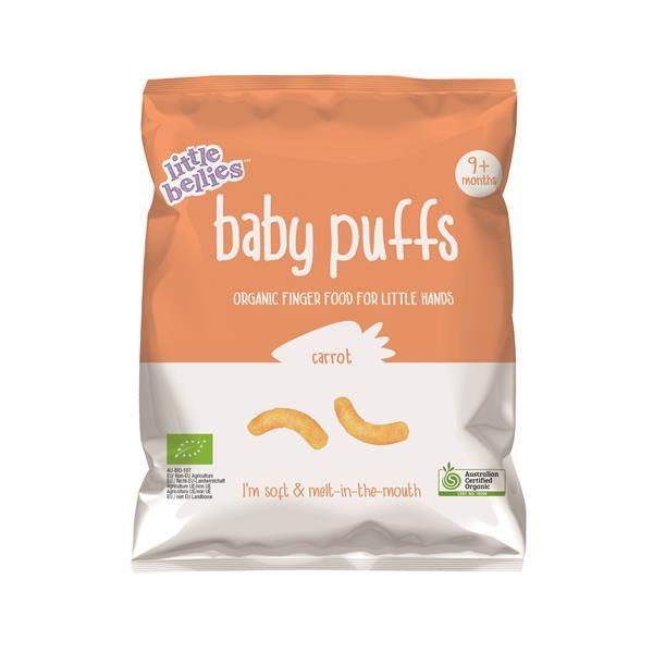 Snack Baby Puffs Milho e Cenoura Bio
