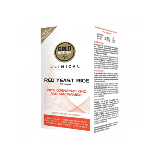 Red Yeast Rice 60 Cápsulas Gold Nutrition