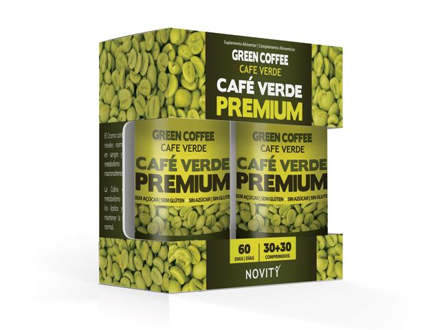 CAFE VERDE PREMIUM | (30+30) COMPRIMIDOS