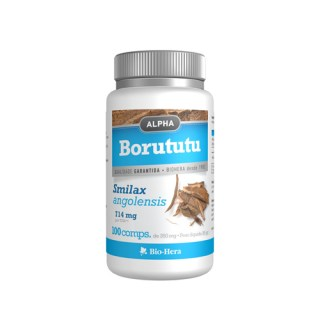 alpha borututu 714 mg 100 comprimidos biohera