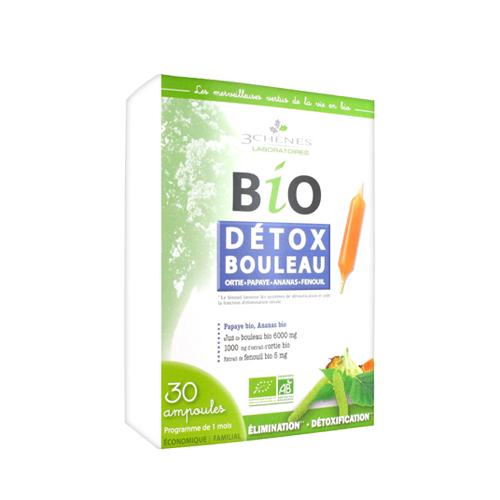 Bio Détox Bouleau 30 Ampolas 3 Chênes