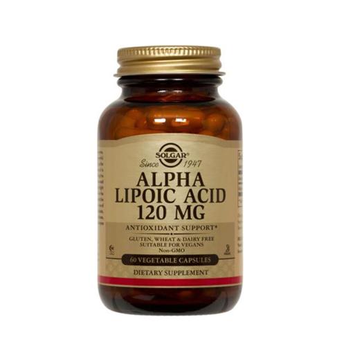 Ácido Alfa-Lipóico 120mg 60 Cápsulas Solgar