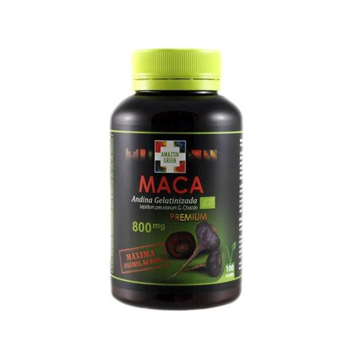 Maca 800mg - 100 Cápsulas Amazon Green