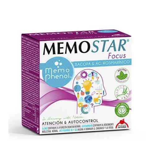 Memostar Focus 30 Saquetas Dietéticos Intersa