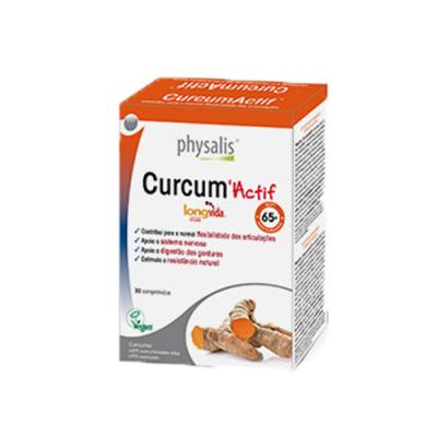 Curcum Actif 30 Comprimidos Biocêutica