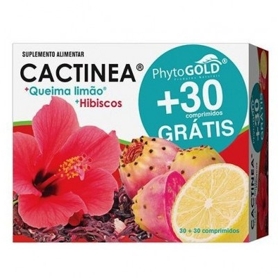 Cactinea + Queima Limão 30+30 Comprimidos