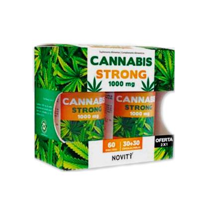Cannabis Strong 1000mg 60 Cápsulas Dietmed