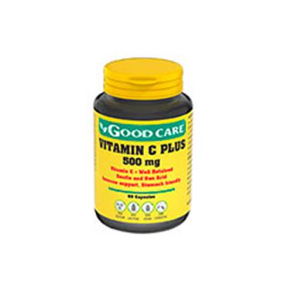 Vitamina C Plus 500mg - 60 Cápsulas Good Care