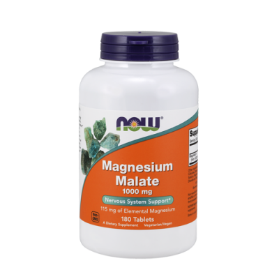 Magnesium Malate 180 Comprimidos Now