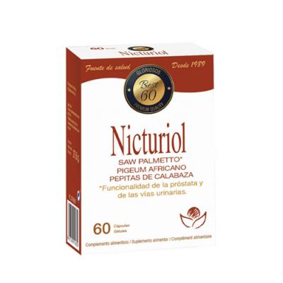 Nicturiol Saw Palmetto 60 Cápsulas Bioserum