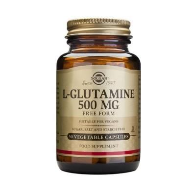 L-Glutamina 500mg 50 Cápsulas Solgar