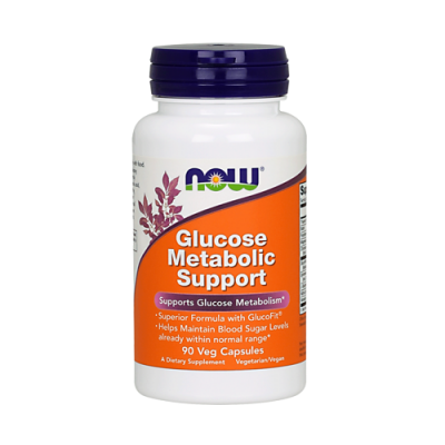 Glucose Metabolic Support 90 Cápsulas Now