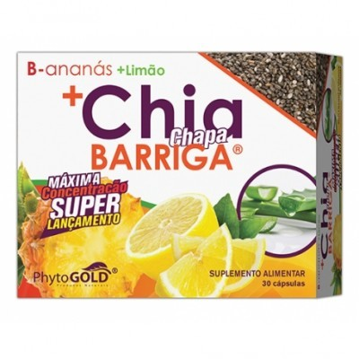 Chapa Barriga Chia+ 30 Cápsulas PhytoGold