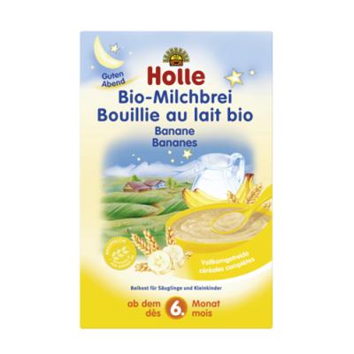 Papa Láctea Bio Banana 6M+ 250g Holle