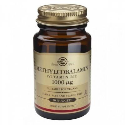 Vitamina B12 (Metilcobalamina) 1000ug 30 Comprimidos Solgar