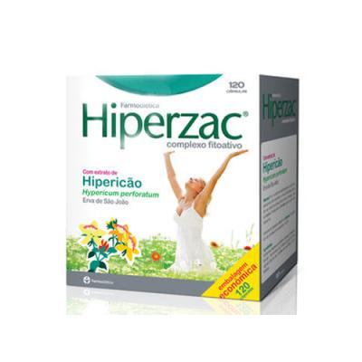 Hiperzac com Extrato de Hipericão 120 Cápsulas Farmodiética