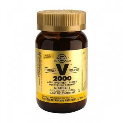 VM-2000 Multinutrientes 60 Comprimidos Solgar