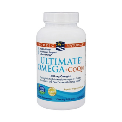 Ultimate Omega + CoQ10 60 Cápsulas Nordic Naturals