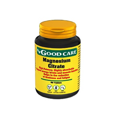 Magnesium Citrate 60 Comprimidos Good Care