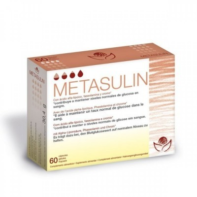 Metasulin 60 Cápsulas Bioserum