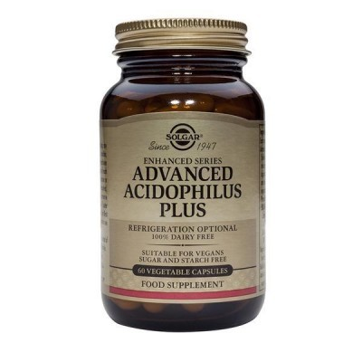 Advanced Acidophilus  Plus 60 Cápsulas Solgar